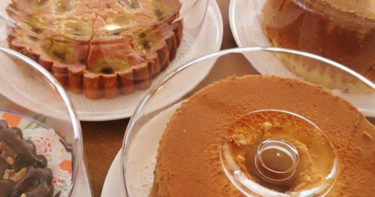 手作りケーキのメニュー